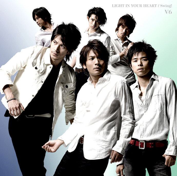 Image result for v6 light in your heart ジャケット